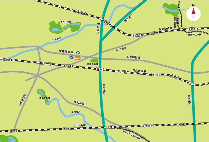 広域イラストマップ